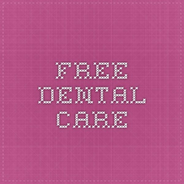 Free dental care