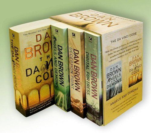 Dan Brown -  Digital Fortress Deception Point Angels and Demons The Da Vinci Code