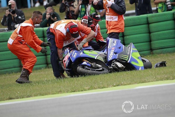 """【MotoGP】Round8 リタイアのビニャーレス「僕の人生で最も""""奇妙""""な転倒」"""
