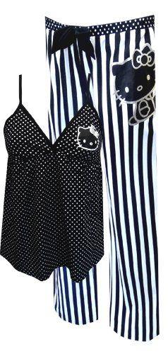 Hello Kitty Black And White Babydoll Pajama Set for women (Large) WebUndies http://www.amazon.com/dp/B00J3AHKYW/ref=cm_sw_r_pi_dp_Nu9aub1A0P9PF