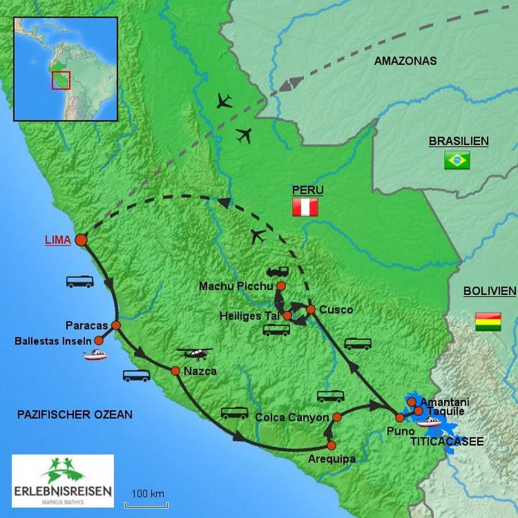 Peru Rundreise fürs kleine Budget | SuedamerikaReisen.com GmbH - Peru Bolivien…