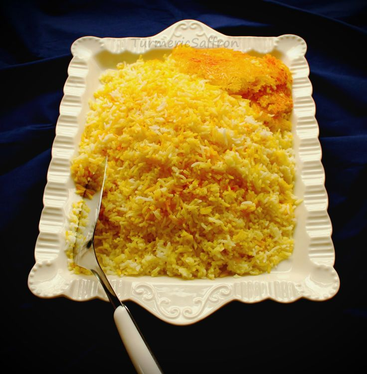 Persian Saffron Rice