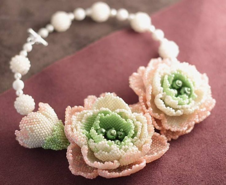 Spring   biser.info - all about the beads and beaded works