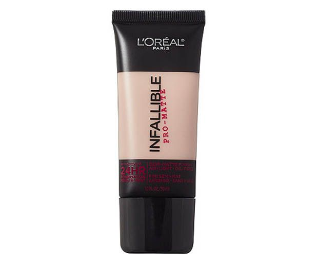 Sweat Proof Makeup - L'Oréal Paris Infallible Pro-Matte Foundation