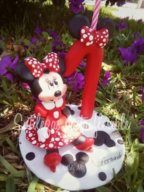 Minnie Mouse Siguenos en Facebook : Sutilezas pasta flexible