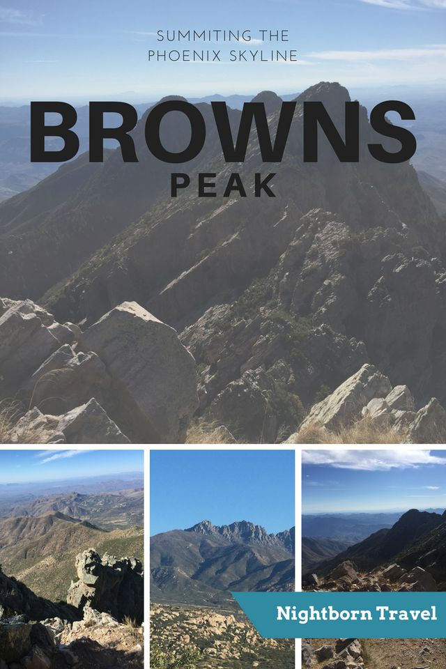 Brown's Peak: Summiting the Phoenix Skyline – Learn if this difficult trek up Four Peaks in Arizona is for you!