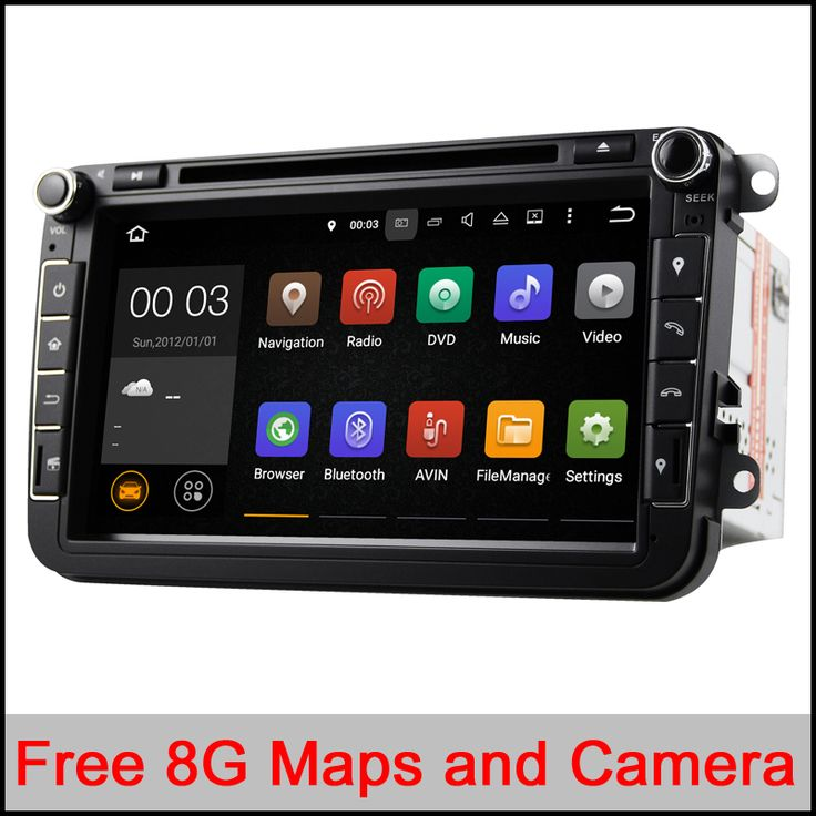 Quad core android 5.1 car dvd player 1024*600 For VW Skoda POLO GOLF 5 6 PASSAT CC JETTA TIGUAN TOURAN Fabia Caddy car gps 2 din