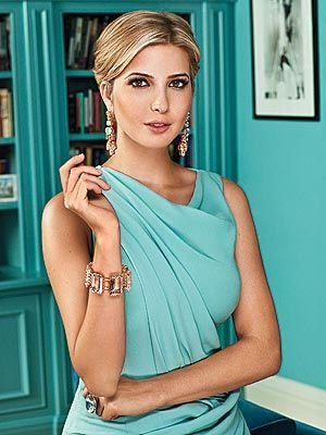 Ivanka will fly in quarterly to review margins and also let me preview her beautiful diamond earring line