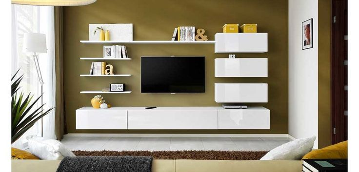 Cupboard Wall Pic with tv unit for living room