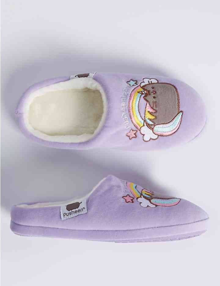 bf15efa31a8 Kids  Slip-on Pusheen Slippers (13 Small - 6 Large)
