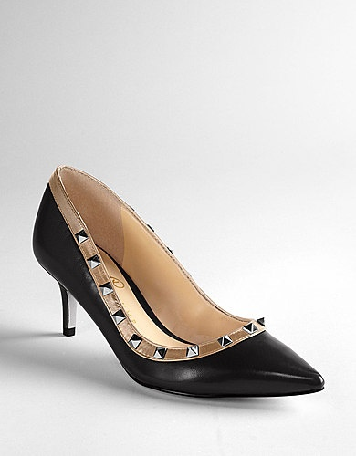 IVANKA TRUMP Lucie Leather Pumps - Adorable !