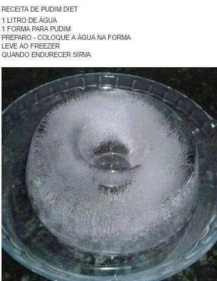 Pudim de água '-'