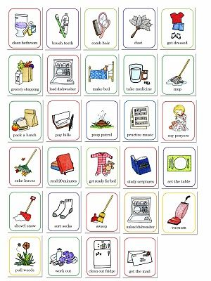 job chart pictures - Susan Fitch Design