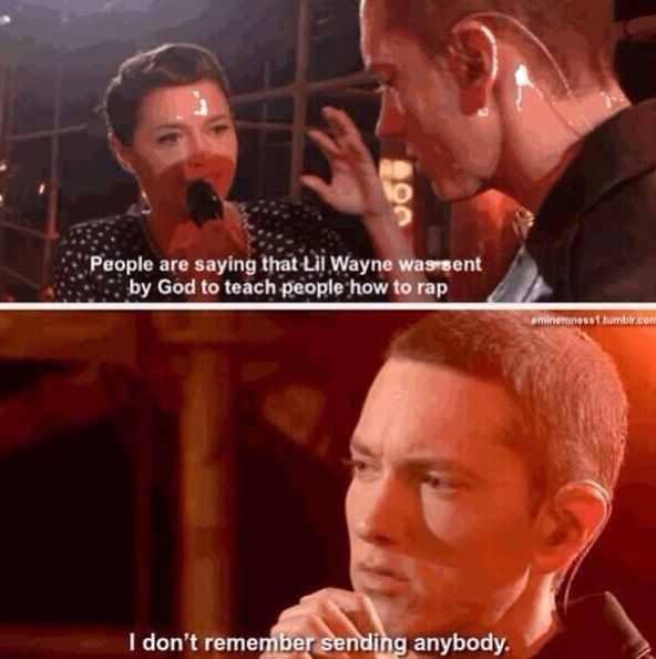 I Don T Remember Sending Anybody Eminem Memes Eminem Eminem Funny