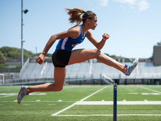 Recently named ESPN's Gatorade High School Athlete of the Year, Sydney McLaughlin, 16, of Dunellen, will compete as a track and field athlete in the 2016 Rio Olympics. (Photo: ~File)