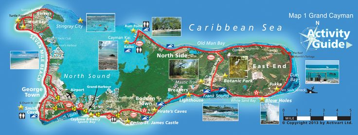 Grand Cayman Island I Want To Go Back THERE Destinations - Cayman islands map