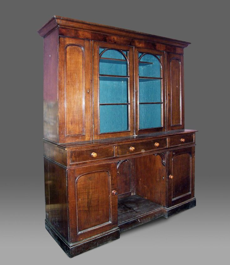 antique welsh oak dresser w built in dog kennel c 1830
