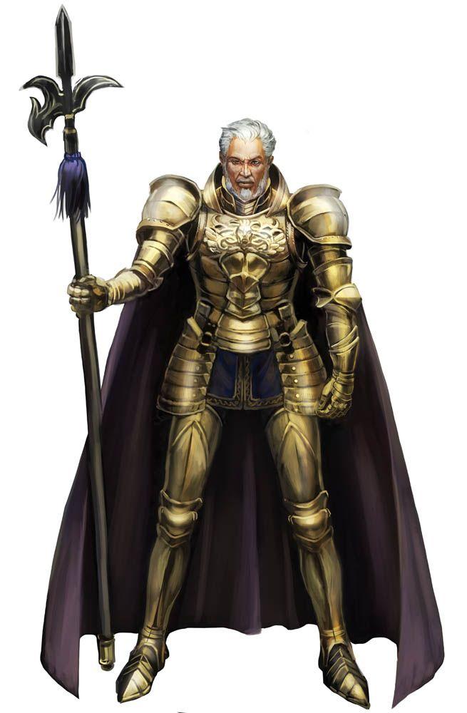 Old Knight by umedama