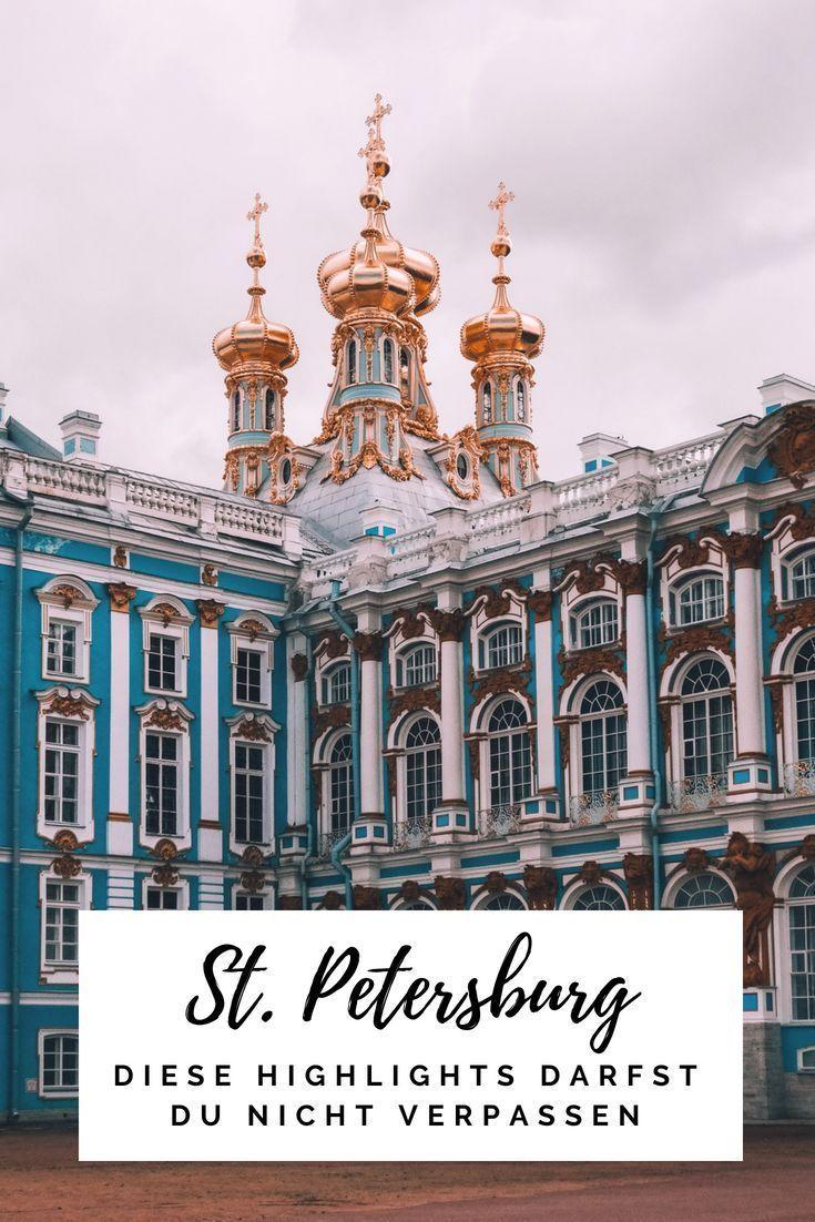 Meine Highlights in St. Petersburg + Ausflug abseits der Touristenpfade