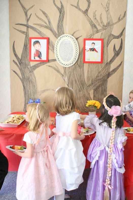 Snow White birthday ideas