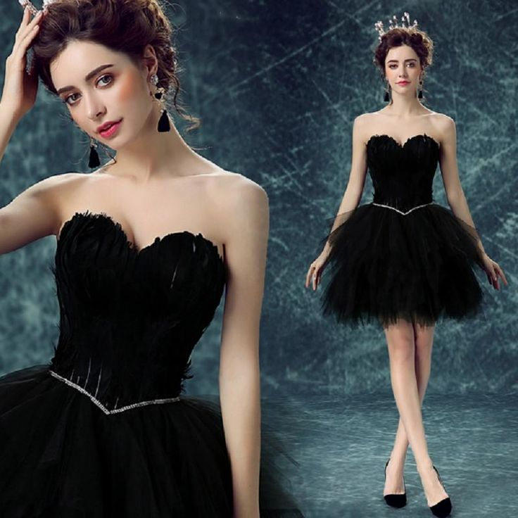 Short Sexy Black Sweetheart girls Evening dress $84.93 => Save up to 60% and Free Shipping => Order Now! #fashion #woman #shop #diy www.weddress.net/...