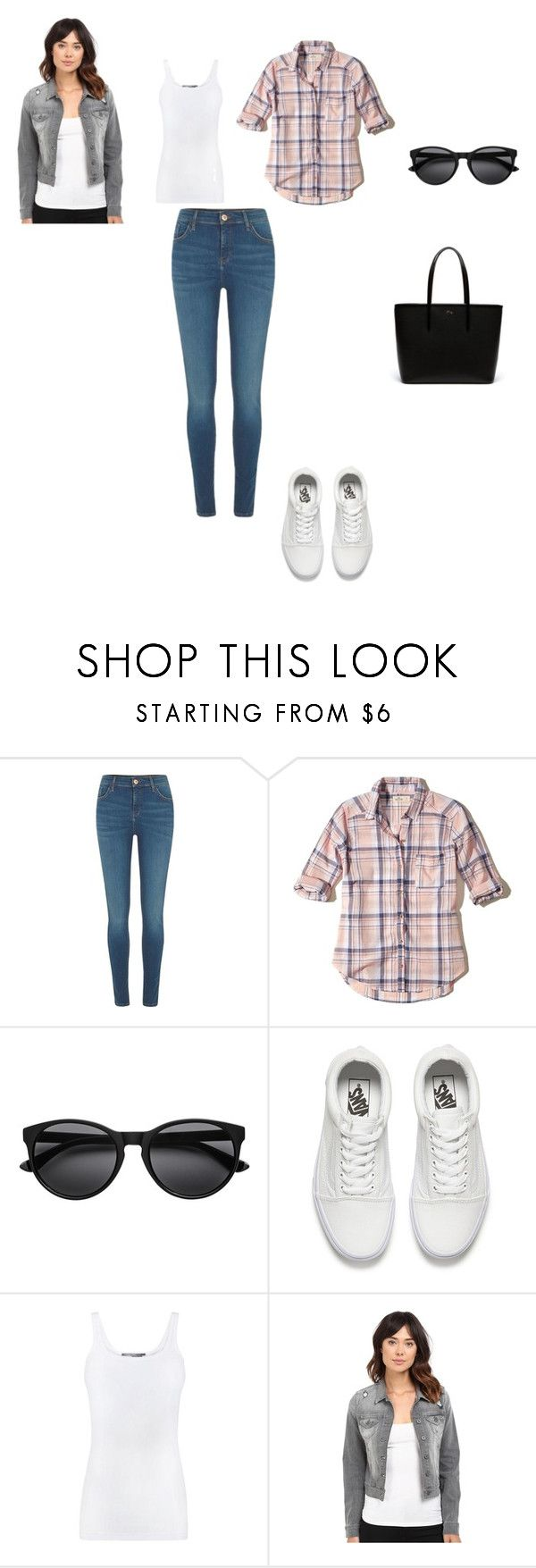 """PIC NIC 38 AÑOS"" by marisuv on Polyvore featuring moda, River Island, Hollister Co., Vans, Vince, Mavi y Lacoste"