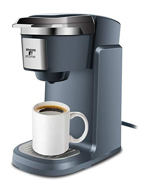 Single Cup Coffee Maker For K Cup Compatible Pods By Moss And Stone