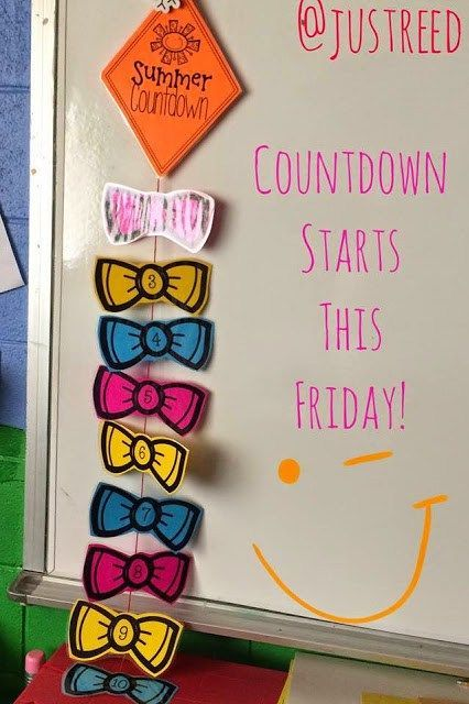 Count down to the end of the year with this countdown kite FREEBIE!