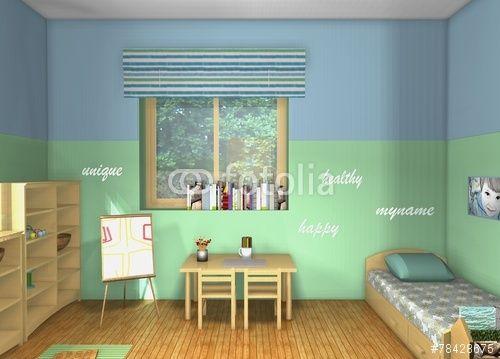 Kids room inspired by Maria Montessori
