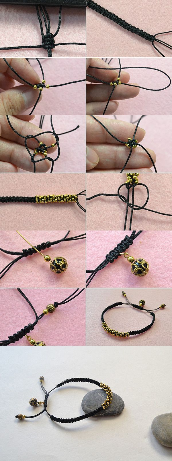 Best Bracelet 2017/ 2018 : Like this braided bracelet? LC.Pandahall.com will publish the tutorial soon. ...