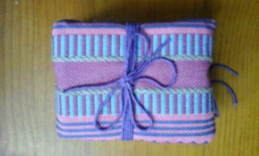 Soap in fabric cover
