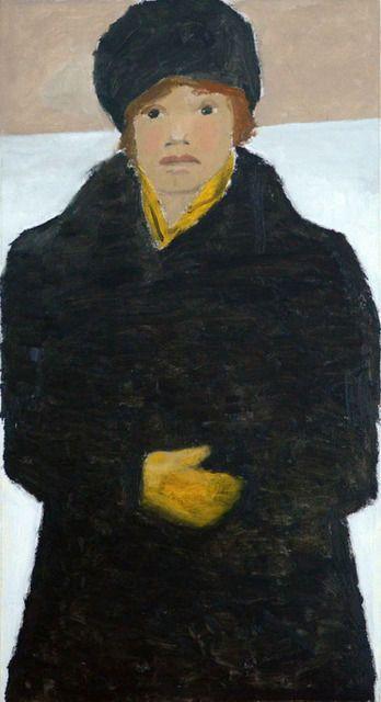 Jean Paul Lemieux | Femme en noir (1980), Available for Sale | Artsy