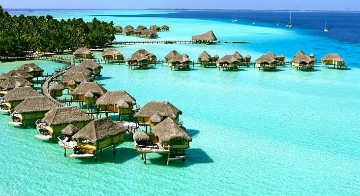 Honeymoons & Destination Weddings  Check out our Facebook Page!  https://www.facebook.com/AAHsf  Le Taha'a Resort, Tahiti
