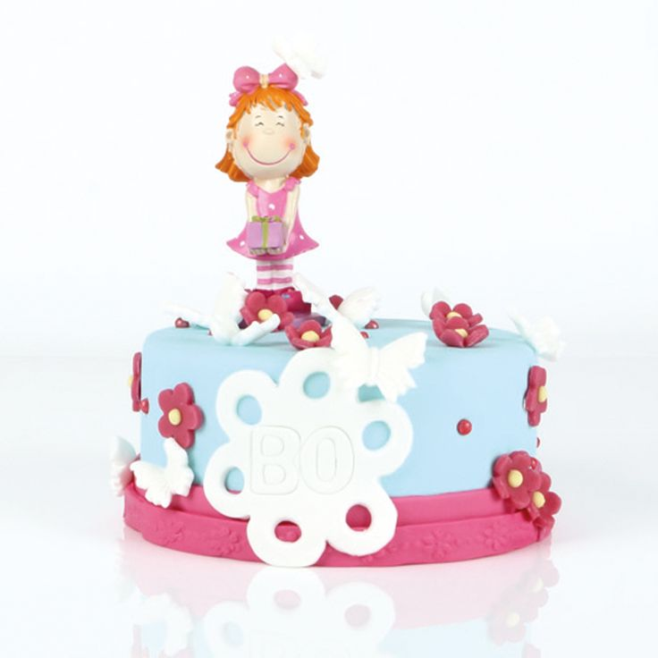 Leman Cake Decorations Birthday With Marzipan Flowers