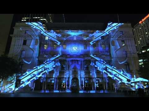 If you're not in Sydney, Australia to see the Vivid Sydney Doctor Who light show, fear not – a pre-record of the whole show from Thursday night's rehearsal is here!