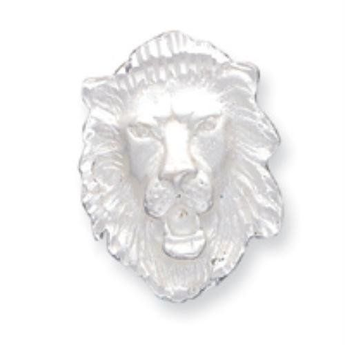 Sterling Silver LION HEAD Charm goldia. $39.66