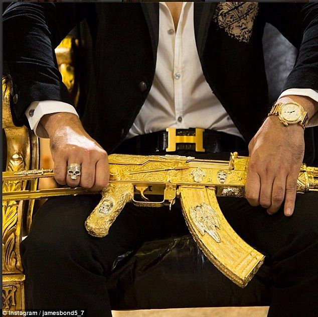 Was Mexican drug lord busted by his Instagram feed? Scores of photos of sports cars, guns, and girls posted on social media account may have...