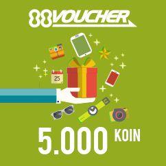 88Voucher 5K   Koin88