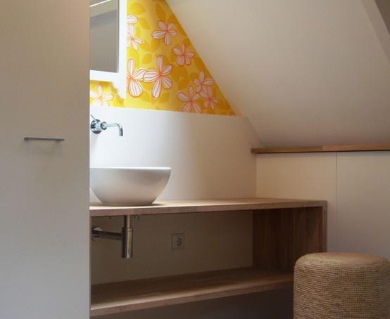WiggersDesign | Ontwerp vrolijke meisjeskamer op zolder