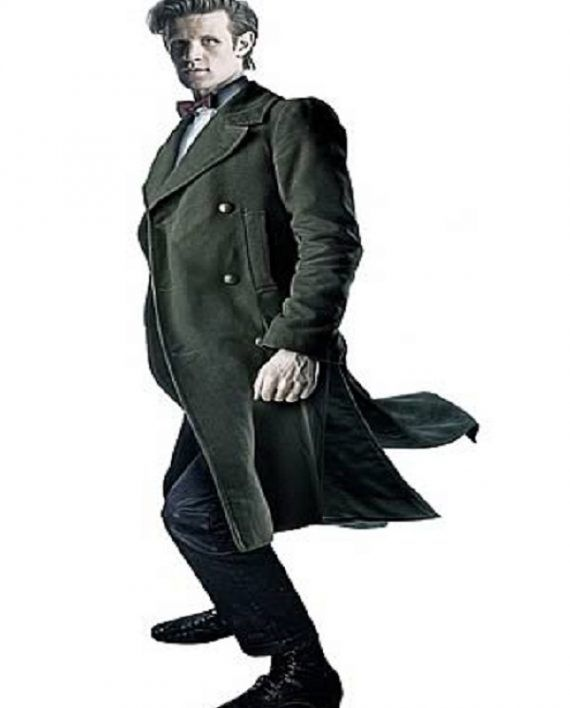 Doctor Who 11th Doctor Green Coat (1)