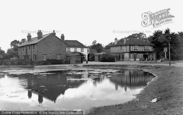Cippenham, the Pond 1950