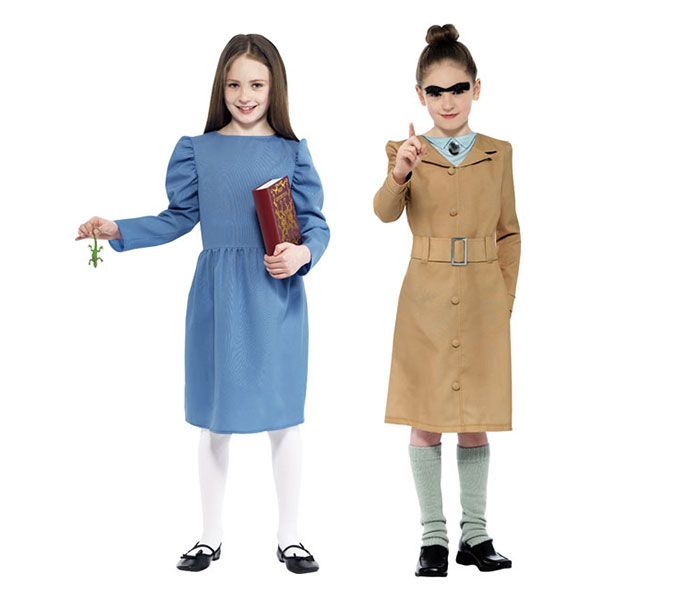 Matilda and Mrs Trunchbull Costumes for Dahlicious Dress Up Day