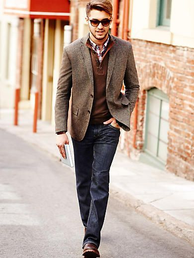 Stylist Tip for Men: How to Wear a Sport Coat