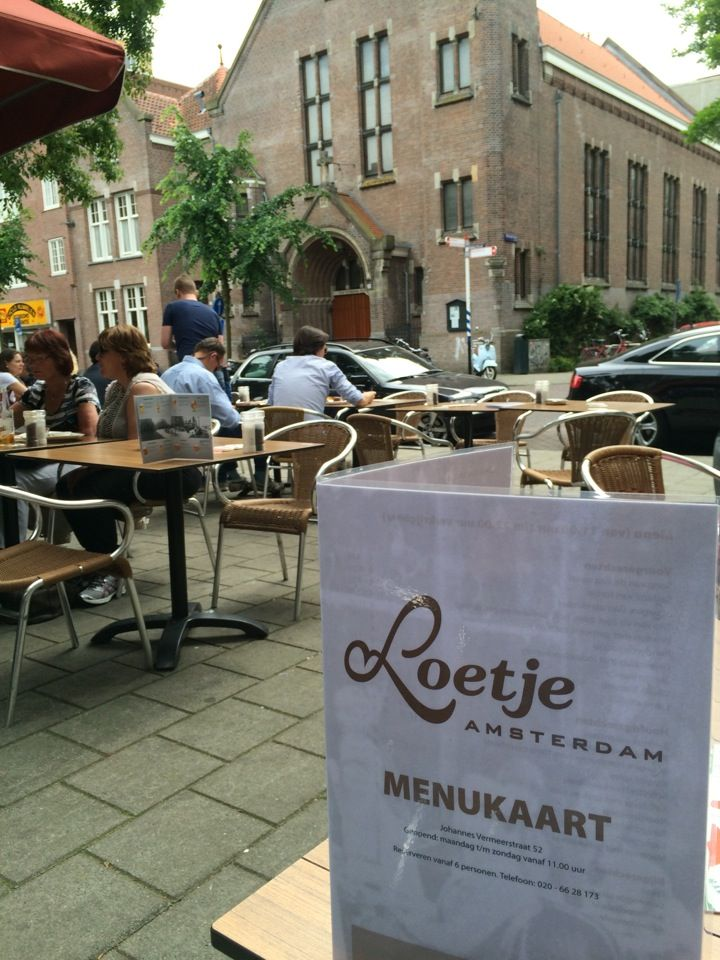Café Loetje in Amsterdam