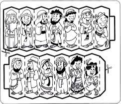 Image result for joseph forgives his brothers crafts