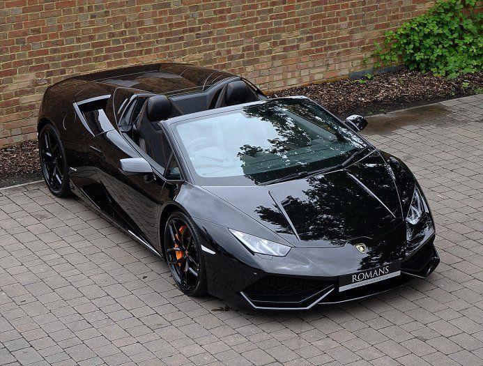2016 (16) Lamborghini Huracan Spyder | Nero Helene