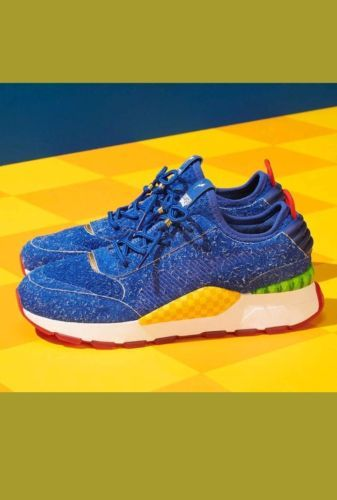 646ce7f8ccc Details about Puma X Sega RS-0 Sonic The Hedgehog Black Eggman Red ...
