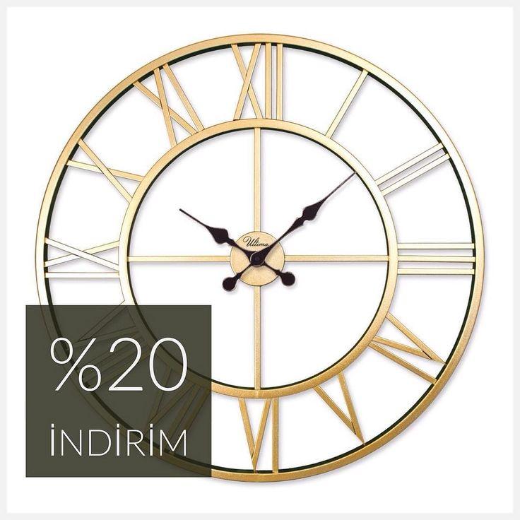 Regal-Ultima saatlerde %20 indirim devam ediyor  Detaylı bilgi www.filconcept.com #filconcept #saat #duvarsaati #tarzevler