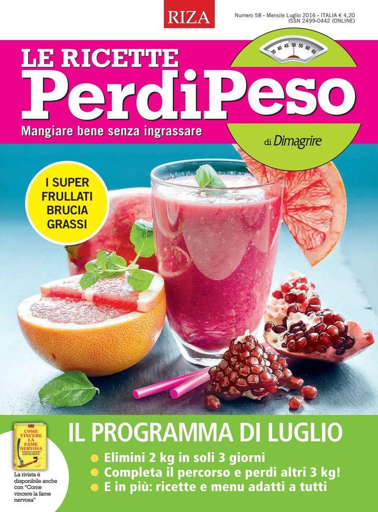 Le Ricette PerdiPeso by Edizioni Riza - issuu