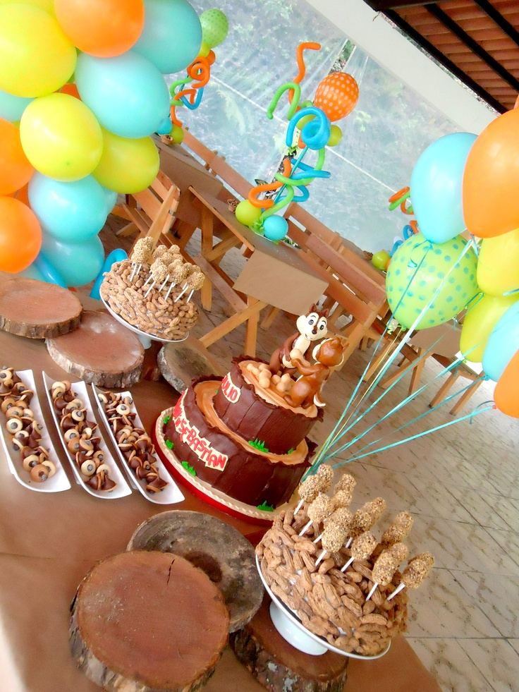 Chip And Dale Cake Ideas